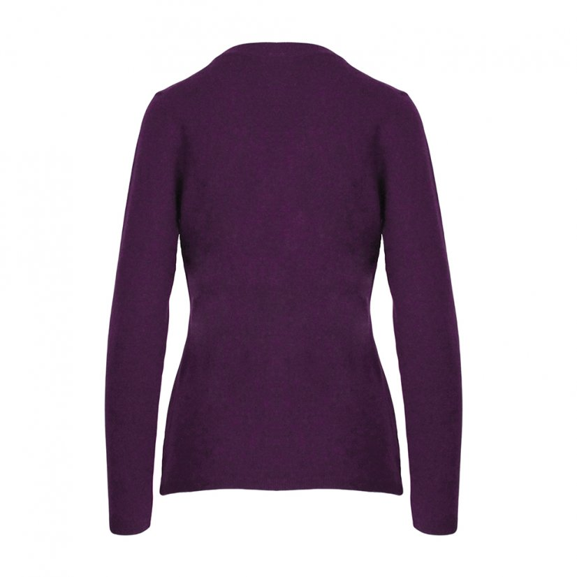 Ladies merino sweater Lada - Lilac - Size: L