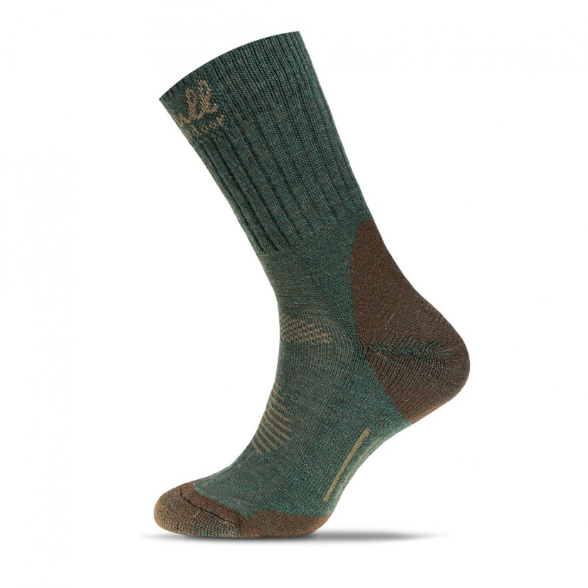 Merino socks Chopok Green - Size: 43-47