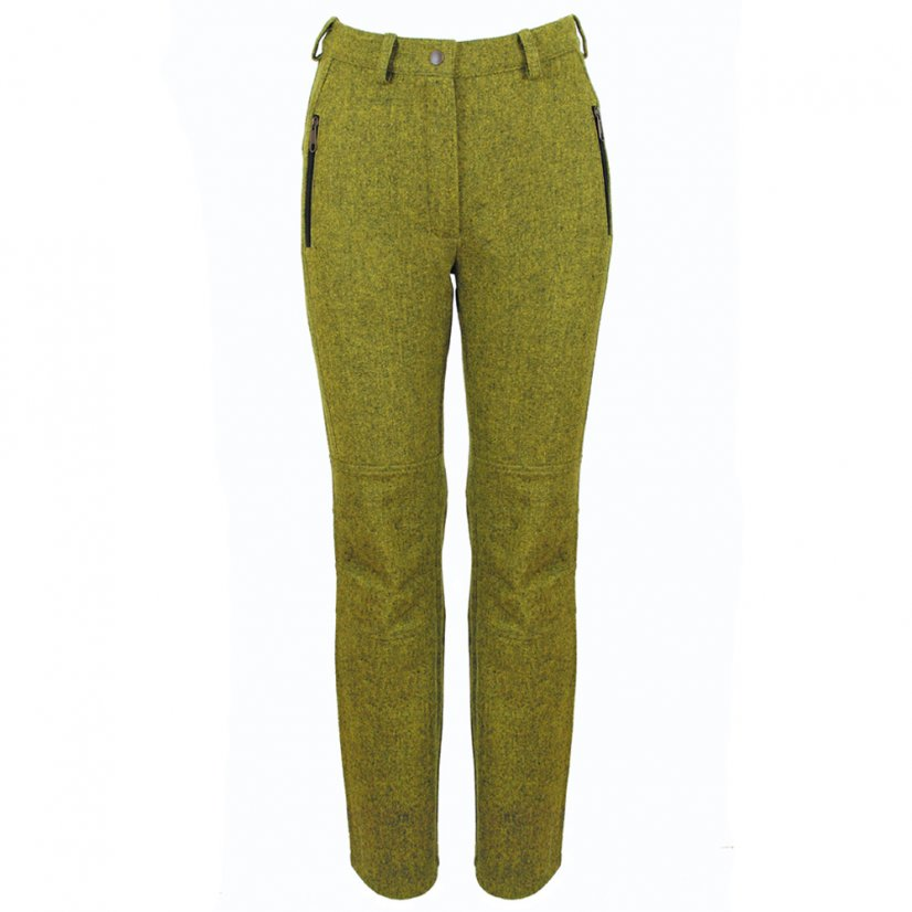 Ladies merino trousers Zorana light Green