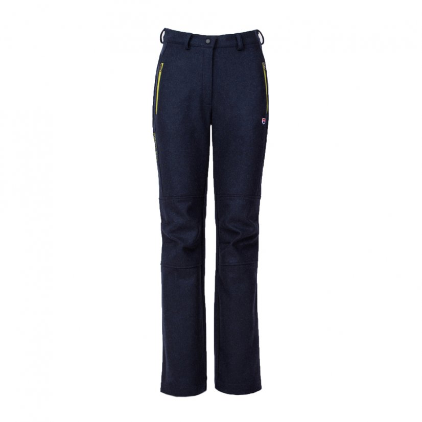 Ladies merino trousers Zorana Blue - Size: M