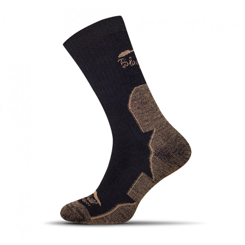 Merino socks Dumbier - Brown - Size: 39-42