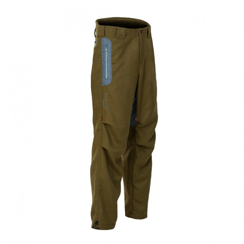 Men's merino trousers Hiker II Khaki - Size: XXL