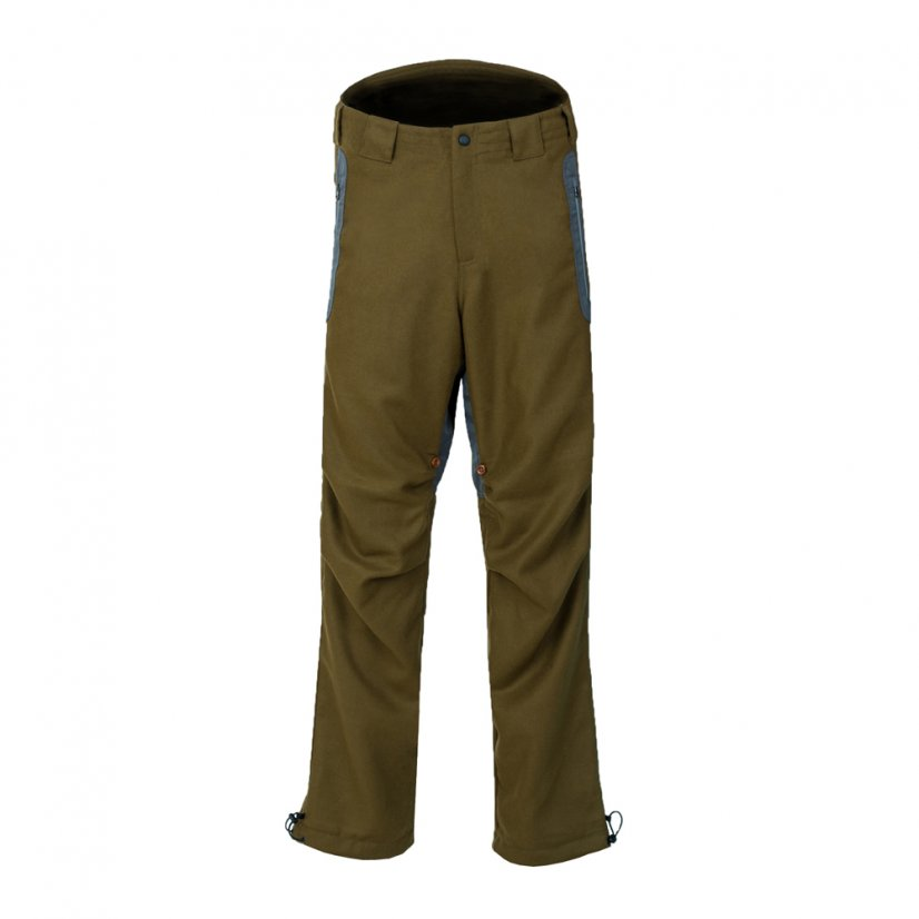 Men's merino trousers Hiker II Khaki - Size: M
