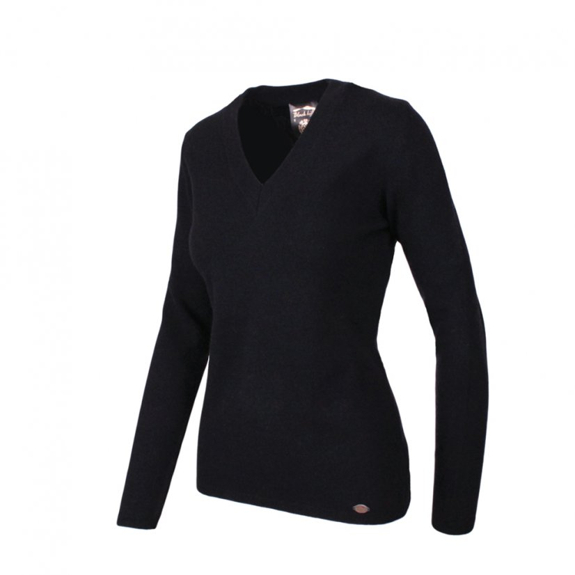 Ladies merino sweater Lada - Anthracite - Size: S