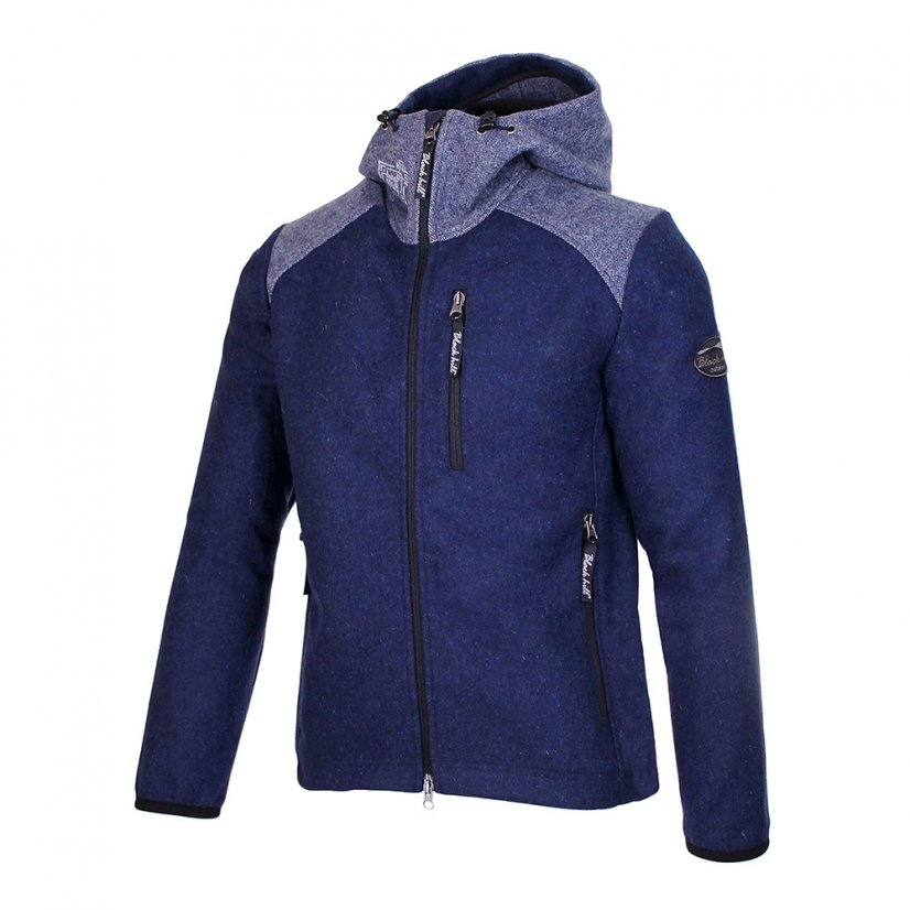 Men's merino jacket Perun Blue