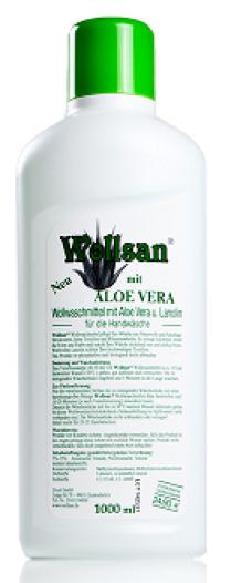 wollsan prípravok z aloe vera na merino vlnu